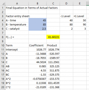 Paste in Excel